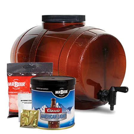 2 Gallon Home Brewing Craft Beer Making Kit - Great Fathers Day Gift! -Free Ship