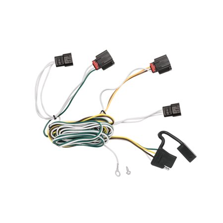 tekonsha 118495 trailer wiring connector t-one 4 way flat replacement for  oem wiring harness