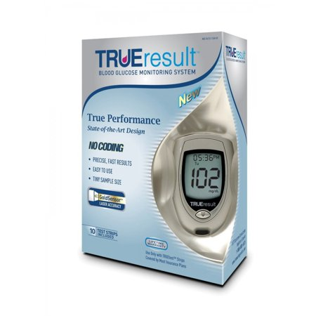 Discontinued TRUEresult Blood Glucose Meter Kit