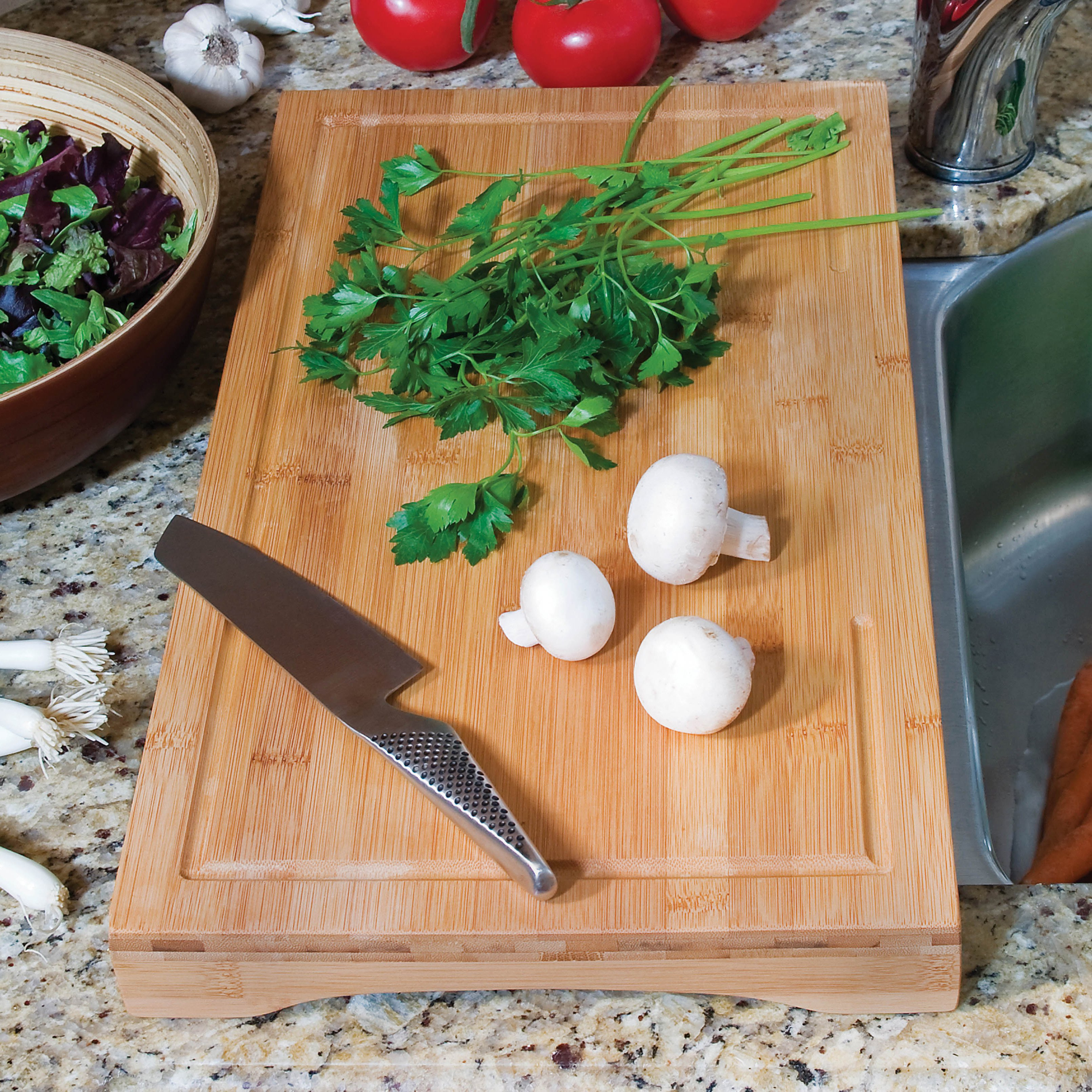 Over the Sink Cutting Board