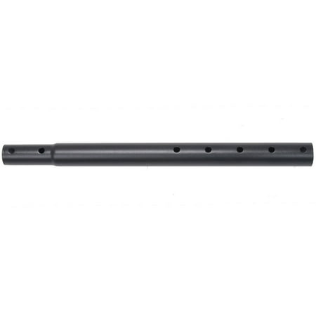 Black Mounting Pole - VideoSecu Height Extension Telescopic Pole 16.5 inch Pipe Black for TV Ceiling Mount LED LCD Plasma Bracket WAMLCE7 BV5