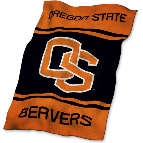 Logo Chair NCAA Oregon State UltraSoft Blanket
