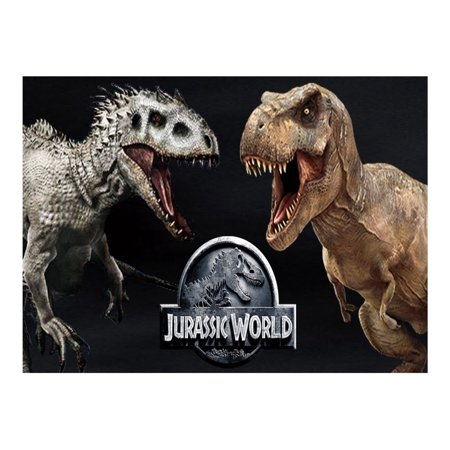 Jurassic Park World Edible Icing Image Cake Topper For 1 4 Sheet