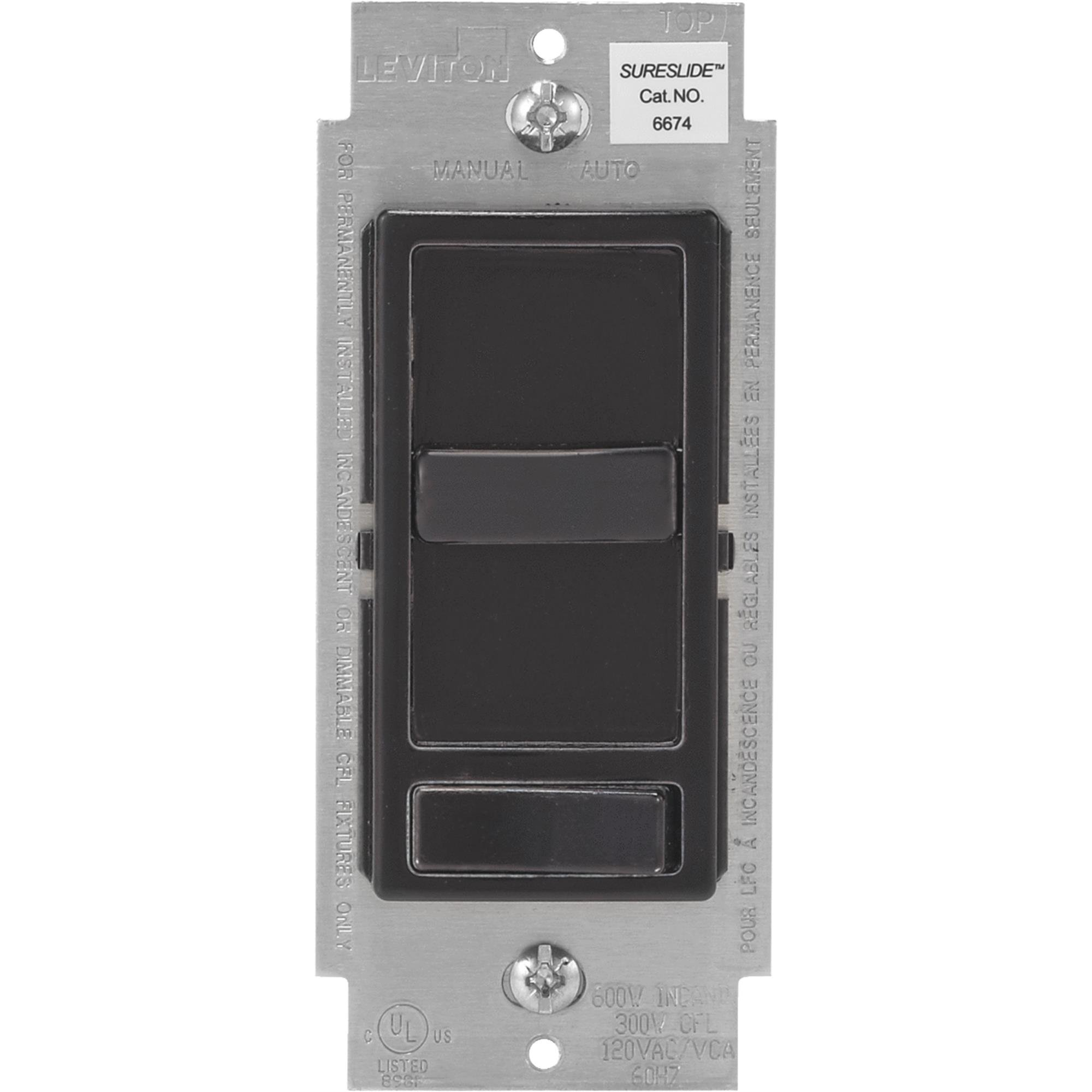 Leviton Decora Universal Slide Dimmer Switch by Leviton