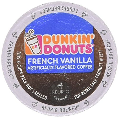 Dunkin Donuts K-cups French Vanilla - 72 Count