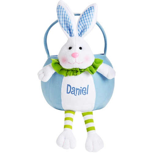 Personalized Leggy Easter Basket, Blue B