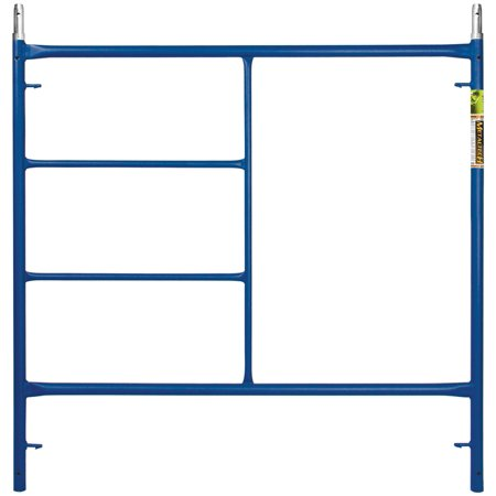 METALTECH M-MF6060PS-A Standard Scaffold Frame, Steel, Blue, Powder-Coated