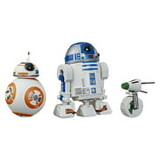 Star Wars Galaxy of Adventures R2-D2, BB-8, D-O 3-pack Droid Figures