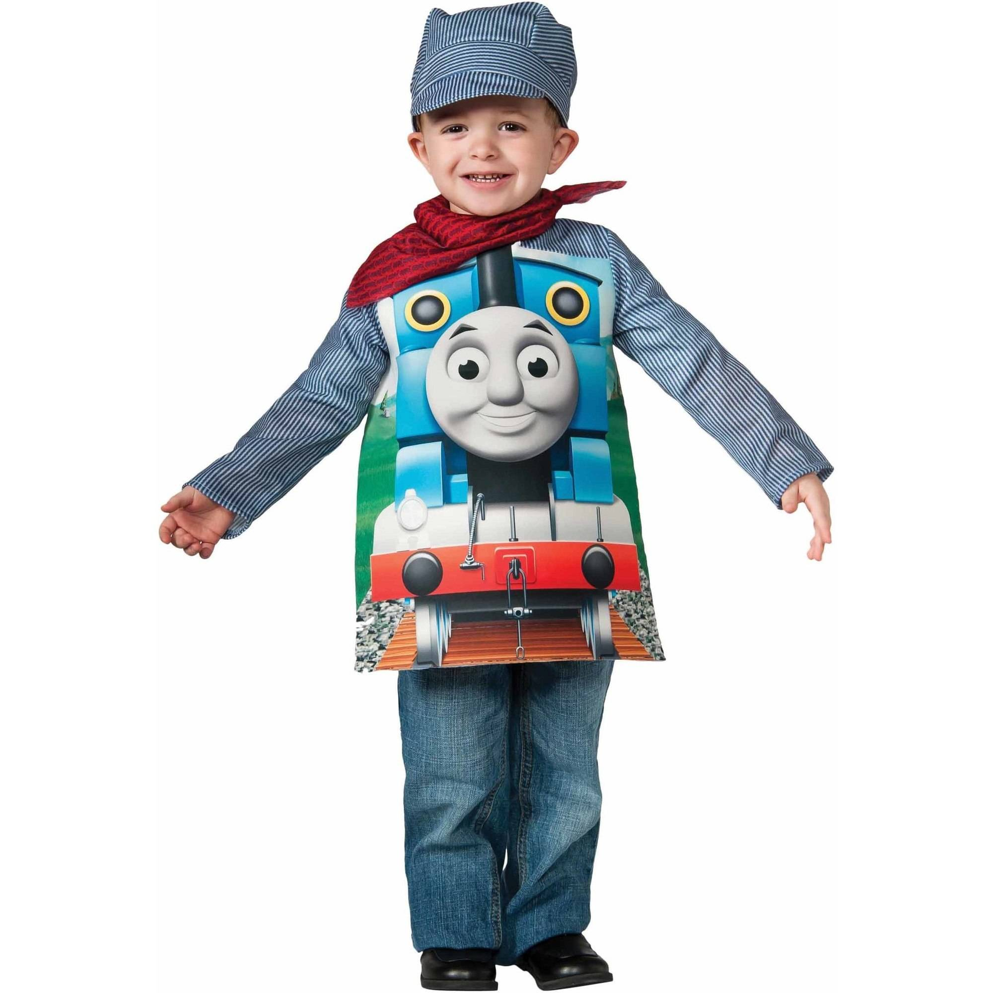 Rubies Thomas the Tank Engine Toddler's Costume, 3T-4T