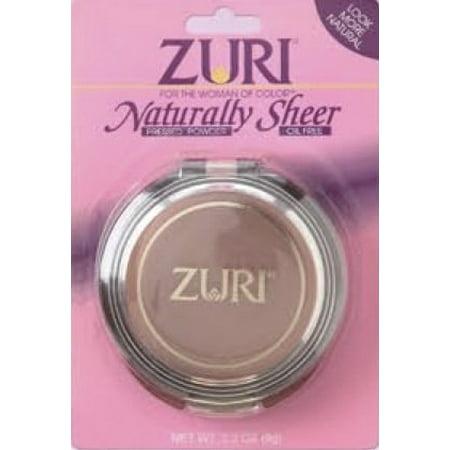 Zuri Naturally Sheer Pressed Powder Light Bronze