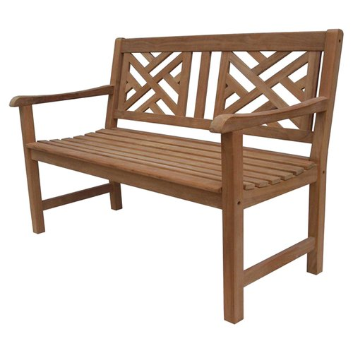 Fullrich Industries Daley Teak Garden Bench