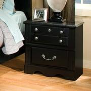 Standard Furniture Madera 24 Inch Nightstand in Black