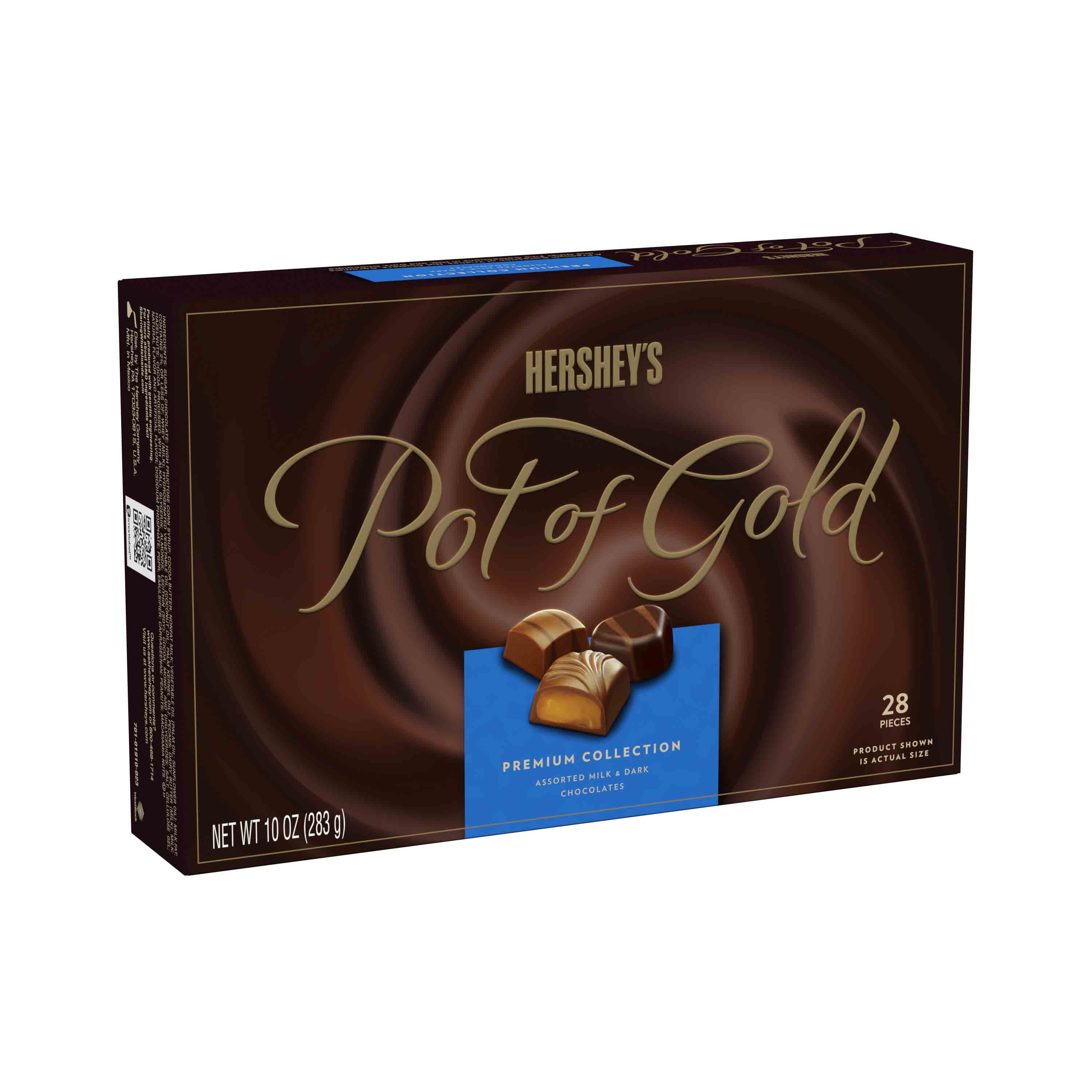(2 Pack) Hershey's Pot of Gold, Assorted Chocolate Premium Collection, 10 Oz - Online Only