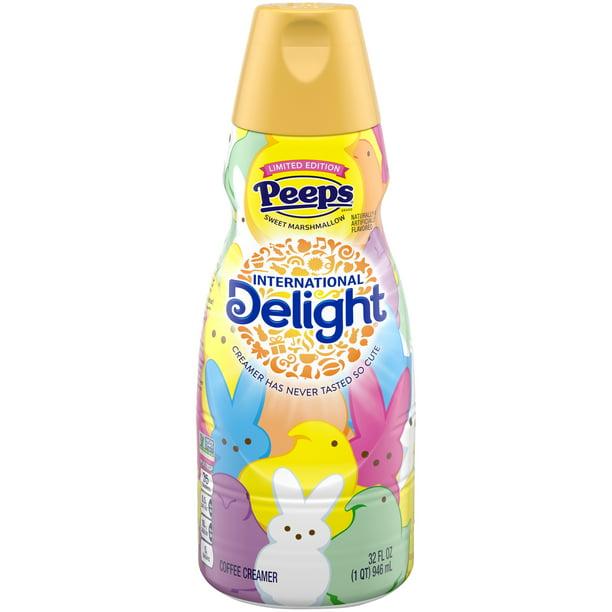 International Delight Peeps Coffee Creamer 32 Fl Oz Bottle Walmart Com Walmart Com