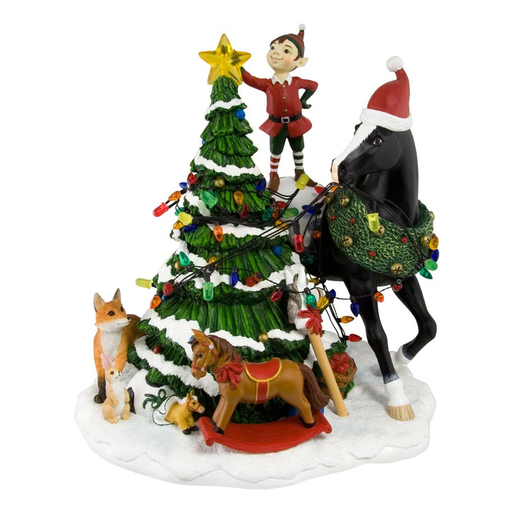 ENESCO Trail of Painted Ponies 4027288 Woodland Christmas...