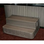 Step  n Stow 6130337 Concept 1 Spa Steps - Smoke Gray