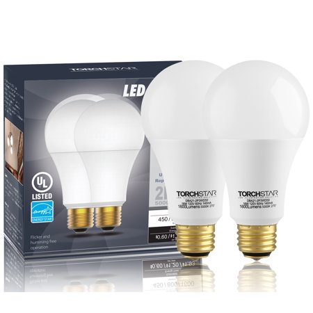 2 Pack 3 Way A21 Led Light Bulb 4060100w Equivalent Energy Star