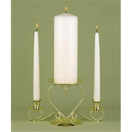 Ivory Unity Candle Set