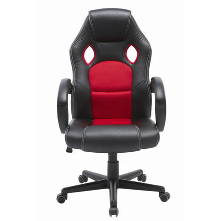Prime Proht Racing Style Faux Leather Mesh Gaming Chair With Andrewgaddart Wooden Chair Designs For Living Room Andrewgaddartcom