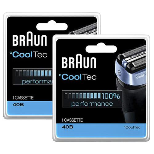 Braun 40B (2-Pack) Replacement Shaver Head