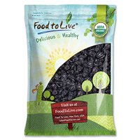 Organic Pitted Prunes, 5 Pounds — Dried California Plums, Non-GMO, Kosher, Unsulfured, Unsweetened, Bulk – by Food to Live