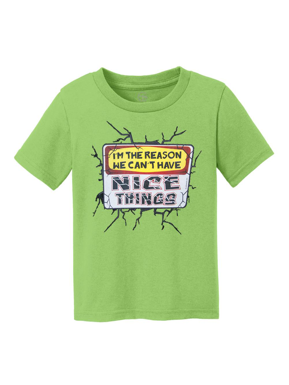 I'm The Reason We Can't Have Nice Things Youth Cotton T-Shirt