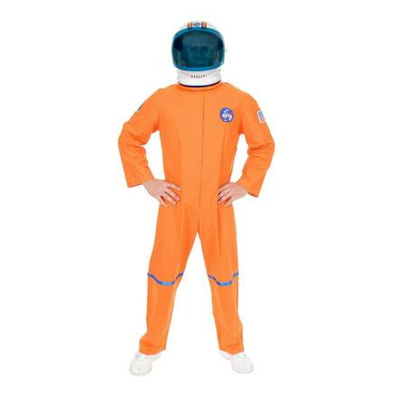 Halloween Astronaut Suit - Plus Adult Orange Nasa Astronaut Orange Suit
