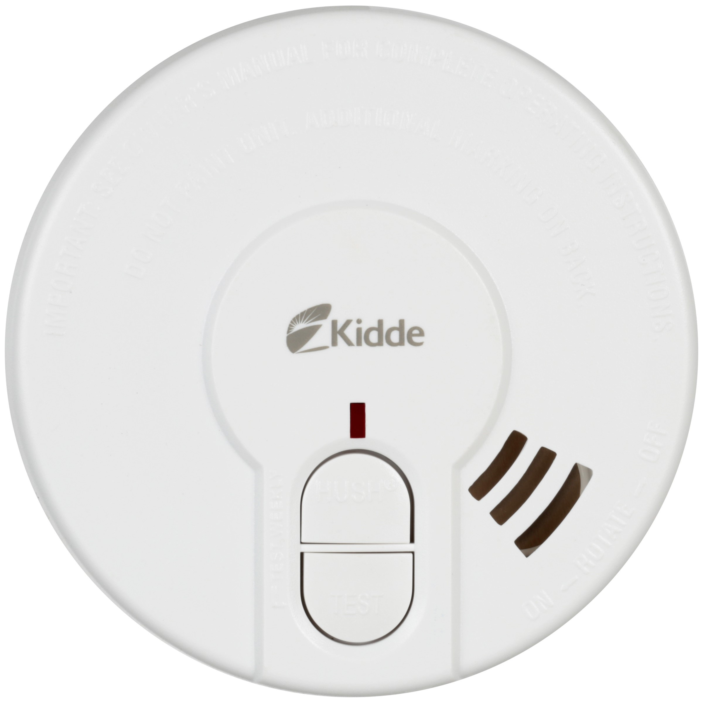 Kidde Battery Operated Photoelectric 4 Smoke Alarm P9040