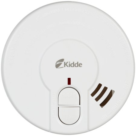 "Kidde (21027561) Battery Operated Photoelectric 4"" Smoke Alarm P9040"