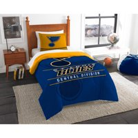 St. Louis Blues The Northwest Company NHL Draft Twin Comforter Set