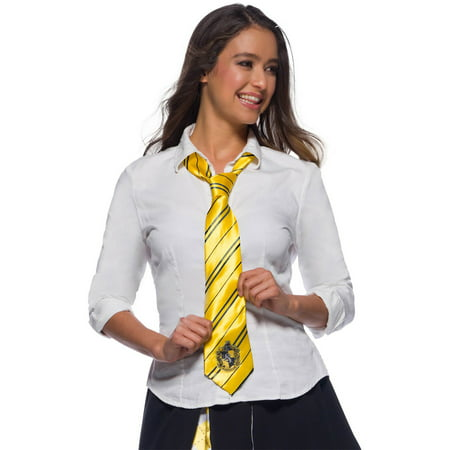 The Wizarding World Of Harry Potter Hufflepuff Tie Halloween Costume Accessory](Halloween Harry Potter Costume Tie)