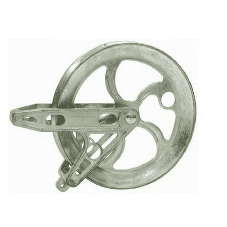 """BEN-MOR CABLES INC 90290 6.5"""" Stand Metal Pulley"""