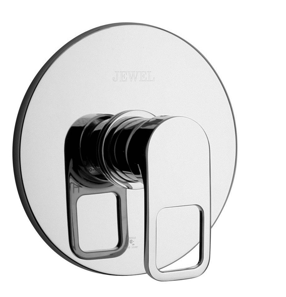 Jewel Faucets Pressure Balanced Valve Body and J10 Series Trim (Chrome)