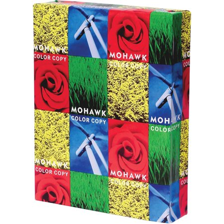 Color Copy Gloss Paper (Mohawk, MOW36213, Color Copy Gloss 100 lb. Cover Paper, 250 / Pack, White)