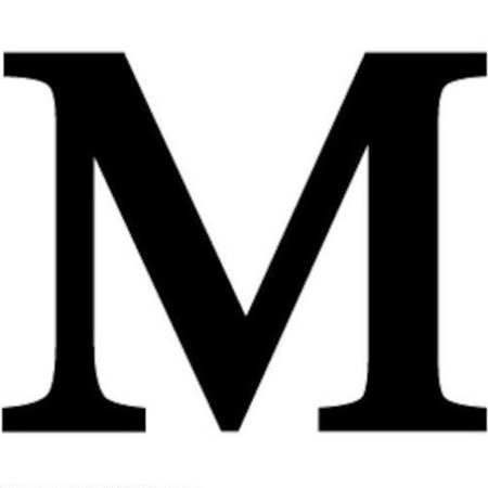 - Letter M Black METAL 12 Inch Wrought Iron Signage Home Wall Art Plaque Name Sign Decoration
