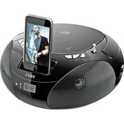 Coby Portable CD Boombox for iPod