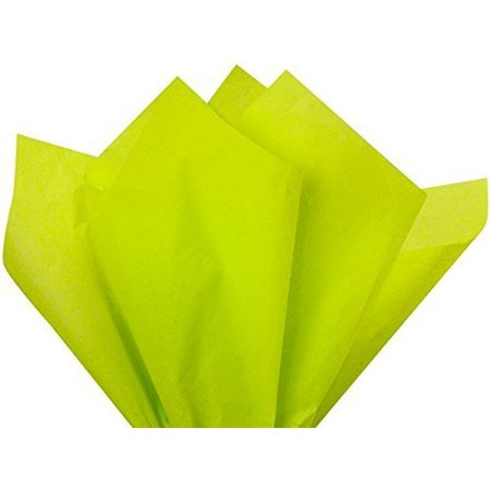 Gift Wrap Tissue Paper 15 X 20 - 100 Sheets (Citrus - Mint Green Tissue Paper