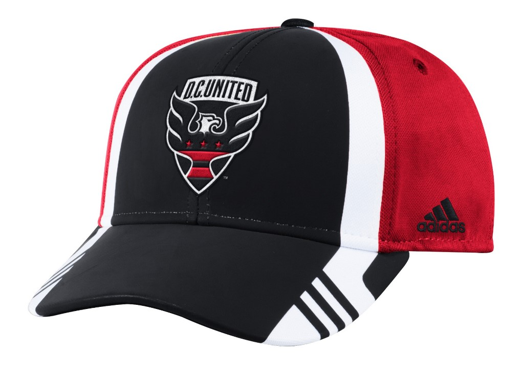 los angeles d0782 cae1b ... coupon code for product image dc united adidas mls 2017 authentic team  structured adjustable hat cf455