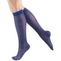 Women's Stockings, Knee High, Sheer: 15-20 mmHg, Beige, Medium