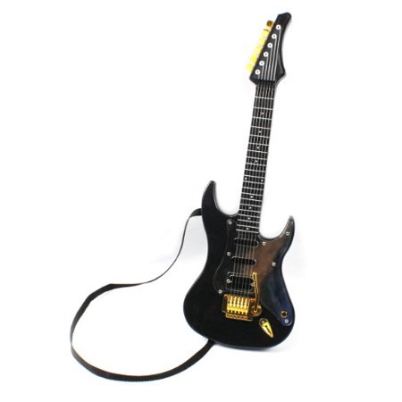 22 hot rock electric battery operated toy guitar plays 4 different rock rhythms integrated. Black Bedroom Furniture Sets. Home Design Ideas
