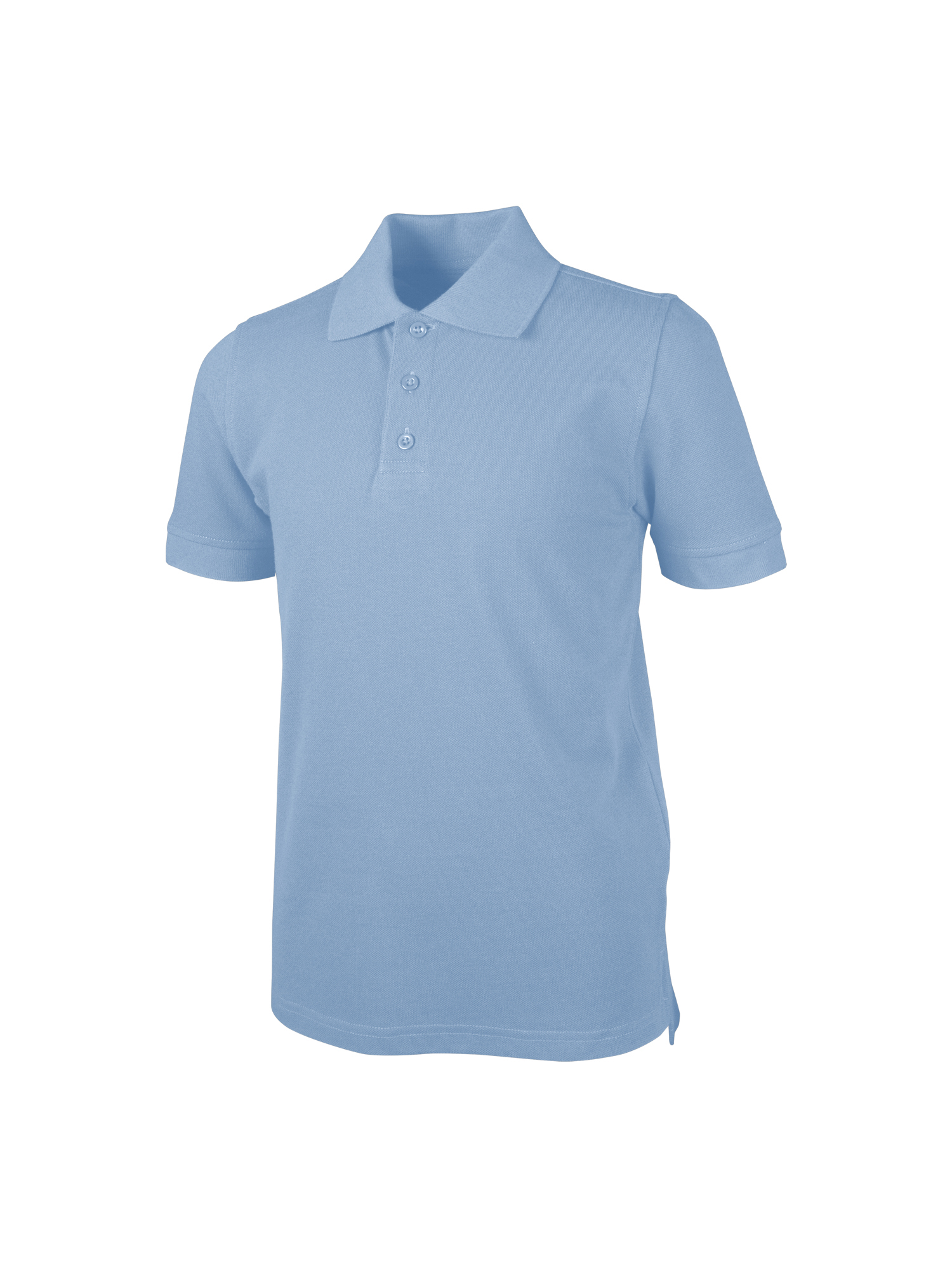 REAL SCHOOL Boys Short Sleeve Pique Polo Shirt
