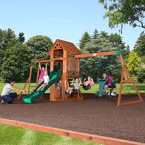 Backyard Discovery Sonora Cedar Wood Swing Set