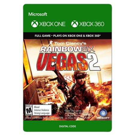 Xbox 360 Tom Clancy's Rainbow Six Vegas 2 (Email (Tom Clancys Rainbow Six Vegas 2 Ps3)
