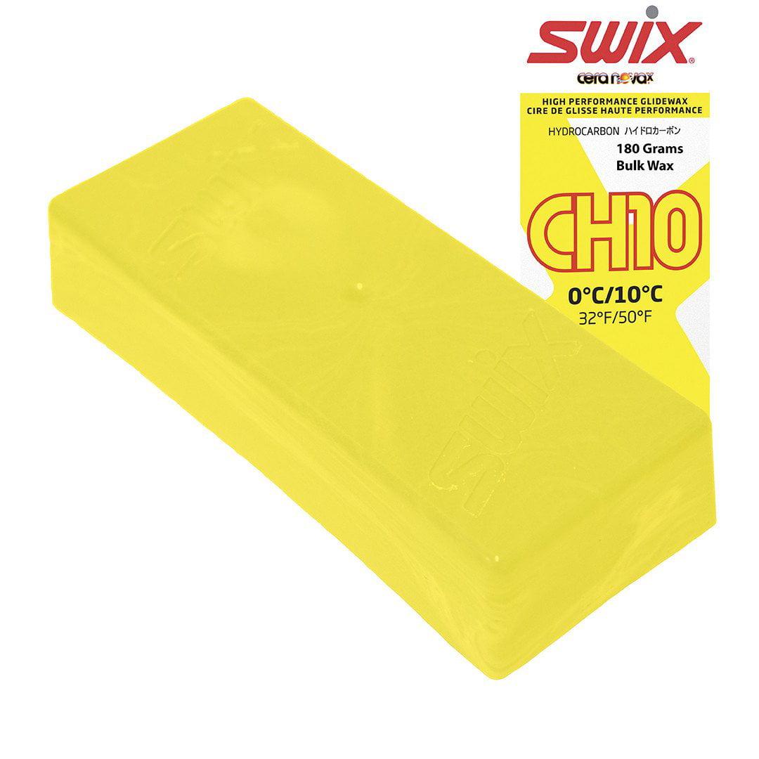 Swix Hydrocarbon Wax: CH10X Yellow