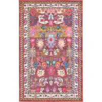 6a8a1483a7a Product Image Bungalow Rose Iris Pink Area Rug