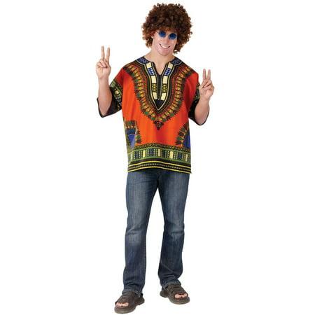 Dashiki Hippie Shirt Adult Costume (Dashiki Costume)