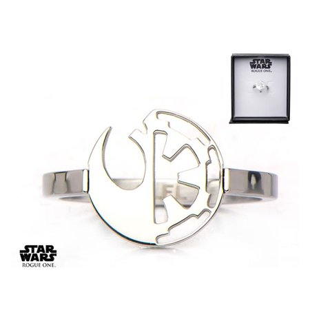 Star Wars SWR1RSISFR02-6 Alliance & Galactic Empire Symbol Cut Out Ring - image 1 of 1