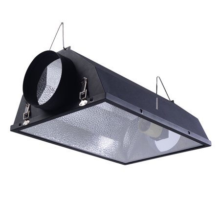 "6"" Air Cooled Hood Reflector Hydroponics Light Grow Hydroponic Glass Cover - image 6 of 9"
