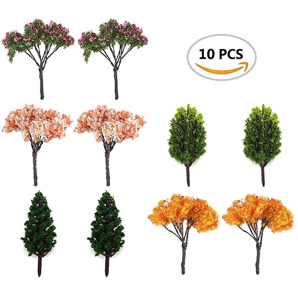 10PCS Moss Flower Miniature Garden Decoration Pots Fairy Garden Ornament Micro