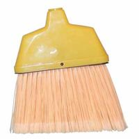 Angle Brooms  6 3 4 In Trim L  Flagged Plastic  Sold As 1 Each